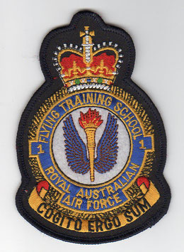 Royal Australian Air Force crest patch No.1 Flying Training School   - disbanded -
