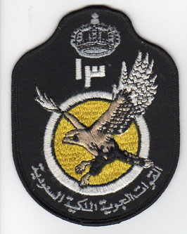 Royal Saudi Air Force patch 13 Squadron crest F-15C/D older version