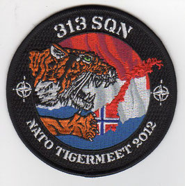 Royal Netherlands Air Force patch NATO Tiger Meet 2012 Orland AB F-16