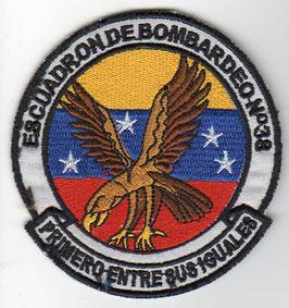 Venezuelan Air Force patch Escuadron de Bombardeo No.38   -disbanded -