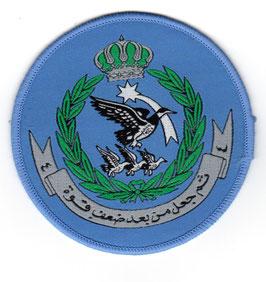Royal Jordanian Air Force patch 4 Squadron Bulldog Mk.125 era