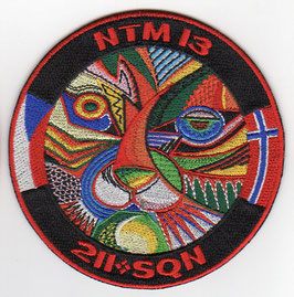 Czech Air Force patch 211 Tactical Squadron NATO Tiger Meet NTM 2013 EMBROIDERED