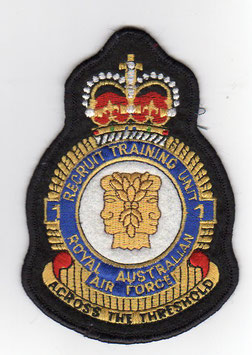 Royal Australian Air Force crest patch No.1 Recruit Training Unit older version