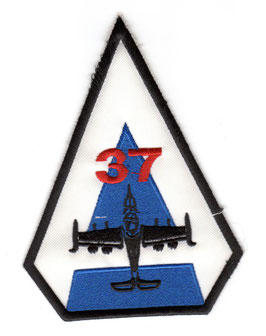 Guatemalan Air Force patch A-37B Dragonfly   - obsolete -