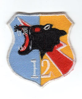 Indonesian Air Force patch Skuadron Udara 12 (12 Squadron) Hawk 109 / 209