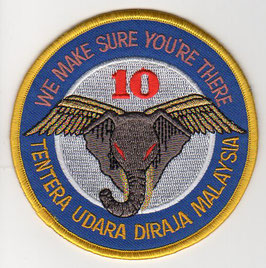 RMAF patch 10 Skuadron ´Elephant Tusk´ version 2