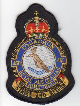 Royal Australian Air Force crest patch No.460 Squadron