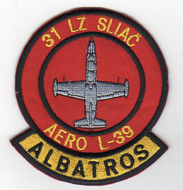 Slovak Air Force patch 2nd Squadron / 31st Air Base Sliac L-39