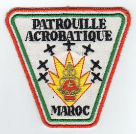 """Royal Moroccan Air Force patch Patrouille Acrobatique """"Marche Verte"""""""