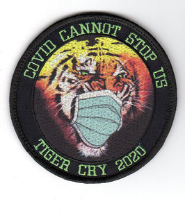 German Air Force patch TLG 74 NATO Tiger Meet 2020 COVID CANNOT STOP US
