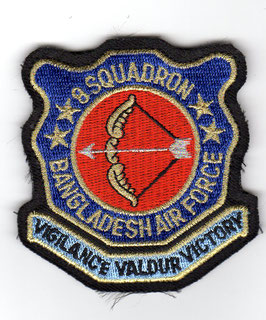 Bangladesh Air Force patch 8 Squadron MiG-29