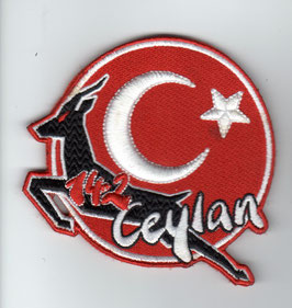 Turkish Air Force patch 142 Filo ´Ceylan´ F-16C/D Akinci disbanded