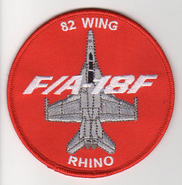 Royal Australian Air Force crest patch 82 Wing Ops F/A-18F Rhino