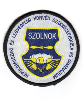 Hungarian Air Force patch Szolnok School for Aircraft and Air Defence