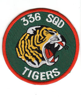 Royal Norwegian Air Force 336 Skvadron ´Tigers´ patch F-5A/B   - disbanded -