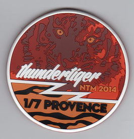 French Air Force patch EC 1/7 ´Provence´ NATO Tiger Meet NTM 2014 Rafale PVC