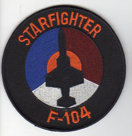 Royal Netherlands Air Force F-104 Starfighter patch