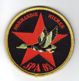 French Air Force patch Escadrille SPA 93 RafaleB/C
