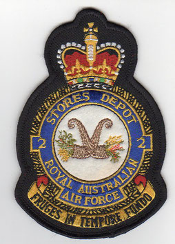 Royal Australian Air Force crest patch No.1 Recruit Training Unit older version