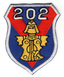 JASDF patch 202nd Tactical Fighter Squadron F-104J Starfighter era   - disbanded -