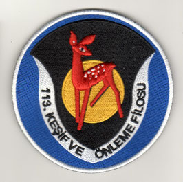 Turkish Air Force patch 113 Filo F-16C/D Eskisehir