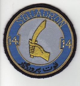 Pakistan Air Force patch No.14 (AS) Squadron Ops F-16A/B