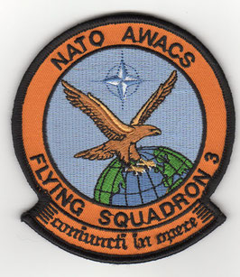 NATO patch 3 Squadron NATO AWACS AEW WING   - disbanded -