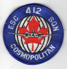 Royal Canadian Air Force patch 412 Escadrille (Squadron)   - disbanded -