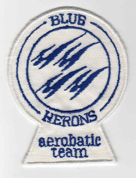Royal Navy patch ´Blue Herons´ vintage