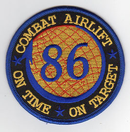Royal Australian Air Force crest patch 86 Combat Airlift Wing