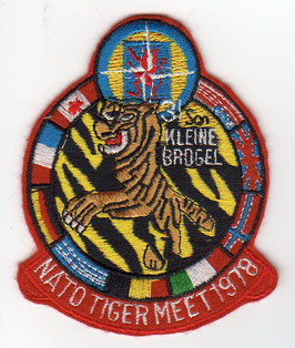 Belgian Air Force patch NATO Tiger Meet  31 Squadron Kleine Brogel F-104G Starfighter