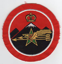 Royal Moroccan Air Force patch Escadre ´Sarab´ Mirage F.1 CH no writing