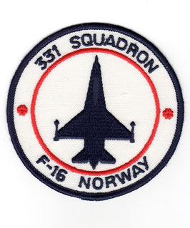 Royal Norwegian Air Force 331 Skvadron patch F-16A/B