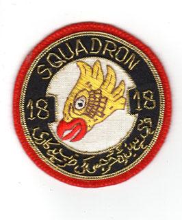 Pakistan Air Force patch No.18 OCU Operational Conversion Unit ´Sharpshooters´ F-7P