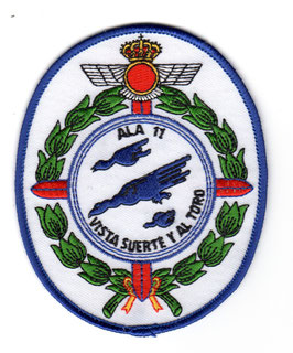 Spanish Air Force patch ALA 11 Eurofighter