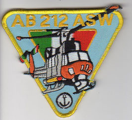 Italian Navy Bell AB.212 helicopter patch