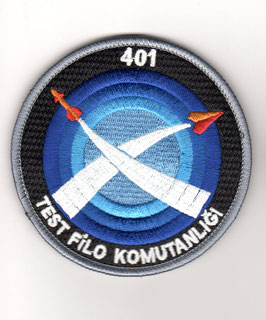 Turkish Air Force patch 401 Test Filo - Operational Test & Evaluation