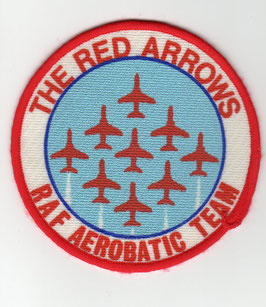 Royal Air Force patch The Red Arrows vintage version 2