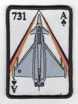 German Air Force patch JG 73 / 1. Staffel Laage Eurofighter
