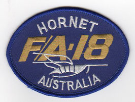 Royal Australian Air Force patch F/A-18 Hornet Australia