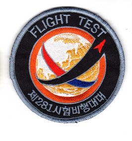 South Korean Air Force patch 281st Test and Evaluation Squadron T-50 / FA-50 Golden Eagle