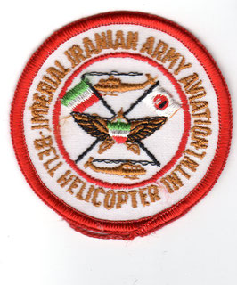 Imperial Iranian Army Aviation patch - Bell Helicopter International
