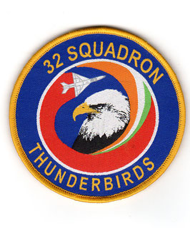 Indian Air Force No.32 Squadron ´Thunderbirds´ Ops patch