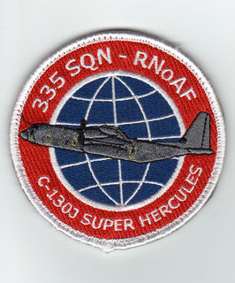Royal Norwegian Air Force 335 Squadron C-130J Super Hercules patch