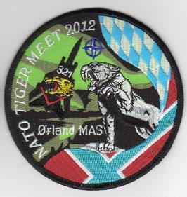 German Air Force patch JaBoG 32 NATO Tiger Meet 2012 Tornado ECR