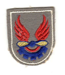 Algerian Air Force patch Technical Group (~1960)
