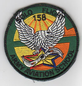 South Korean Army Aviation School class patch 158th Solo