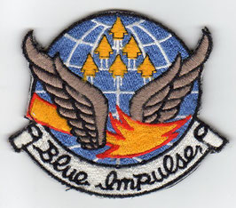 Vintage JASDF 11th Squadron ´BLUE IMPULSE´ Display Team patch
