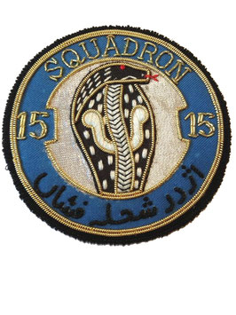 Pakistan Air Force patch No.15 (TA) Squadron Ops Mirage III / Mirage 5