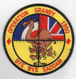 Royal Air Force patch Operation Granby 1990   - obsolete -